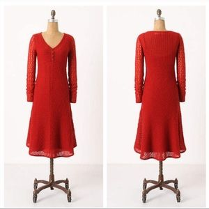 Anthro Sparrow Alamosa Sweater Dress